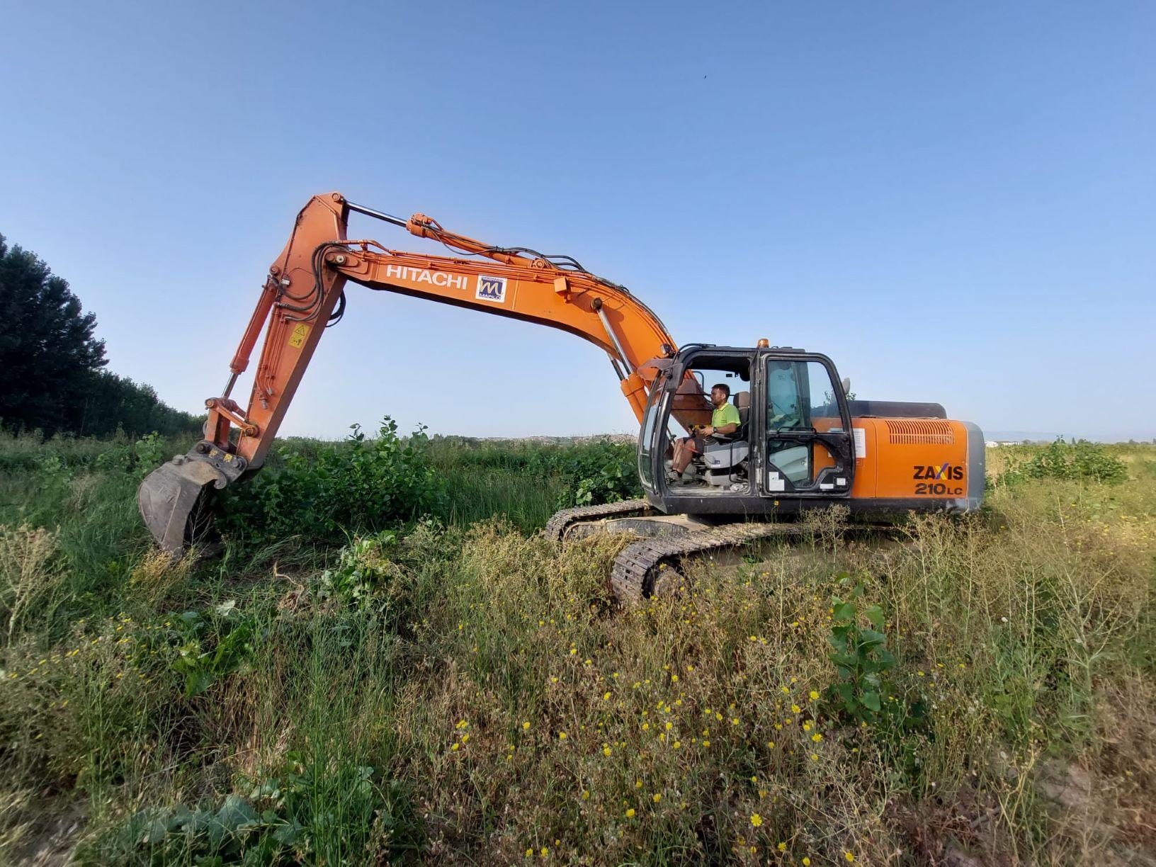 Comienzan los trabajos de restauración ambiental en el paraje de El Estajao